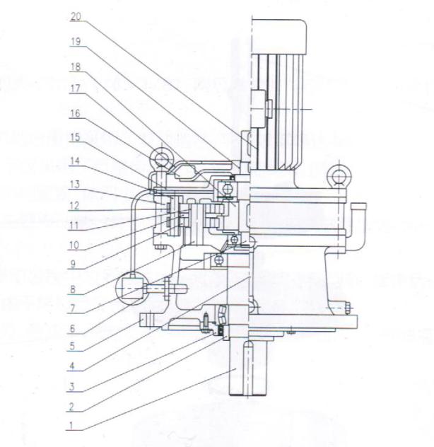 摆线针轮减速机结构&序言(配简图)